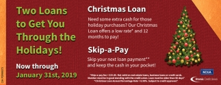 Christmas Loans 2019 Christmas Loans, Atomic Credit Union, Portsmouth, OH