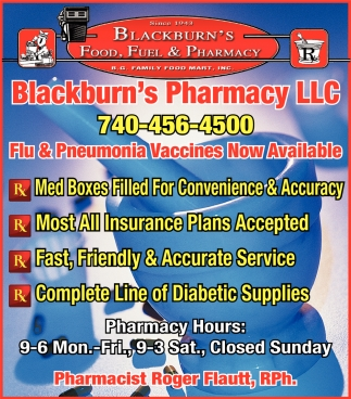 Flu & Pneumonia Vaccines Now Available