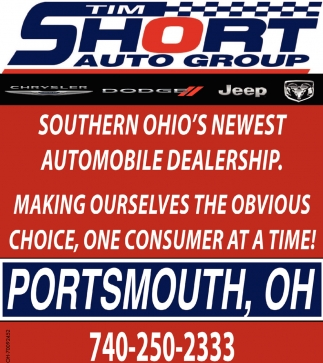 Southern Ohio's Newest Automobile Dealership