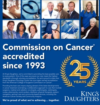 Commission on Cancer accredited since 1993
