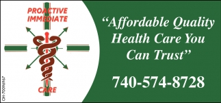 Affordable Quality Health Care You Can Trust