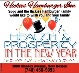 Health & Prosperity in the New Year