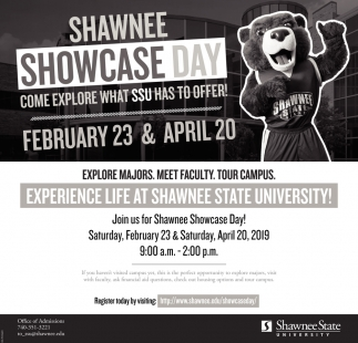 Come explore what SSU has to offer!