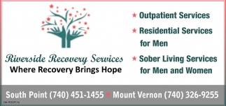 Where Recovery Brings Hope
