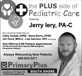 The Plus side of Pediatric Care