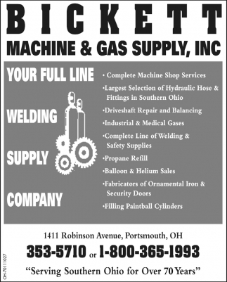 Your full line welding supply company