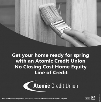 Get your home ready for spring with an Atomic Credit Union