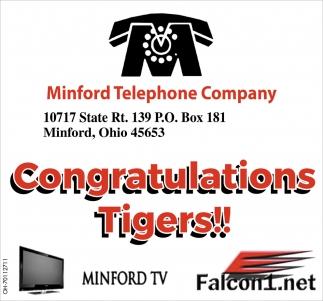 Congratulations Tigers!