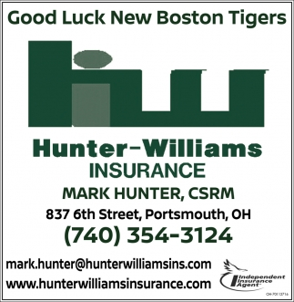 Good Luck New Boston tigers