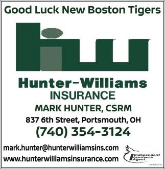 Good Luck New Boston tigers