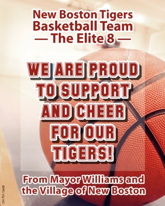 New Boston Tigers Basketball Team - The Elite 8