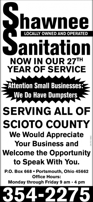 Attention Small Businesses: We Do Have Dumpsters