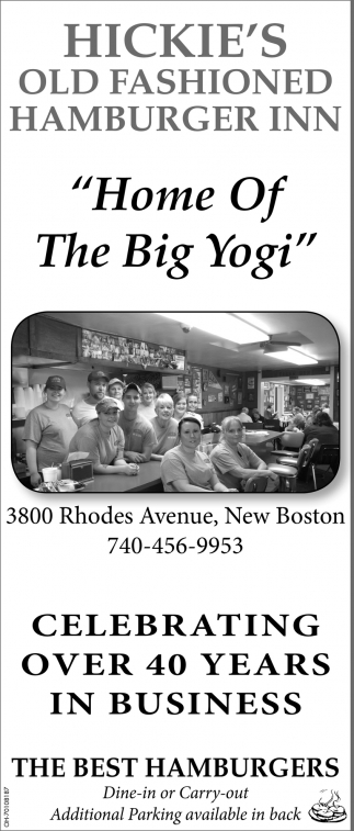Home of The Big Yogi