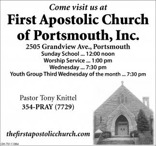 Pastor Tony Knittel