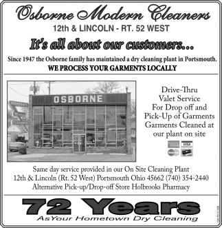 Your Only Hometown Dry Cleaner