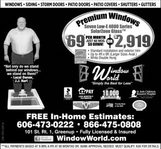 Premium Windows $69 per month