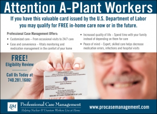 Attention A-Plant Workers
