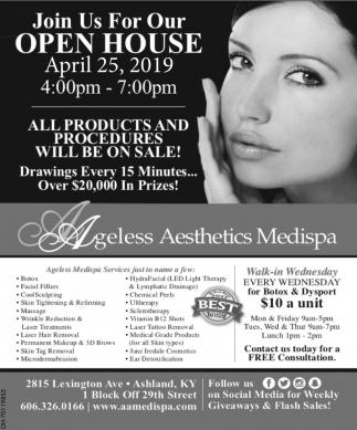Open House April 25