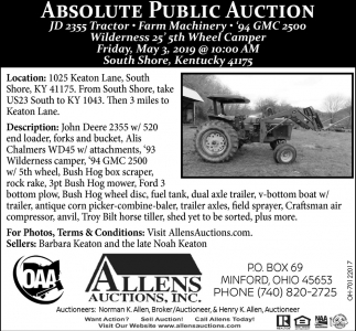 Absolute Public Auction