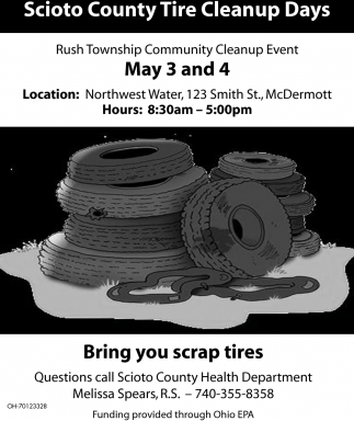 Scioto County Tire Cleanup Days