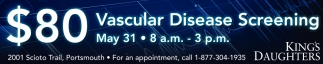 $80 Vascular Disease Screening
