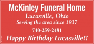 Happy Birthday Lucasville!