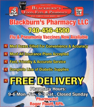 Flu & Pneumonia Vaccines now Availble