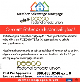 Current Rates are historical low!