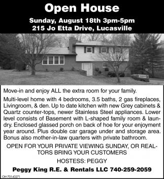 Openn House - 215 Joetta Drive, Lucasville