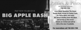 New Years Eve Big Apple Bash