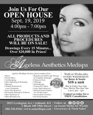 Open House Sep. 19