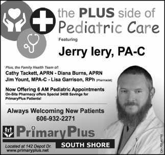 Featuring Jerry Lery, PA - C
