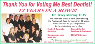 Thank You for Voting Me Best Dentist!