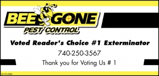 Voted Reader's Choice #1 Exterminator