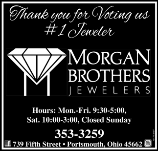 Thank you for Voting us #1 Jeweler