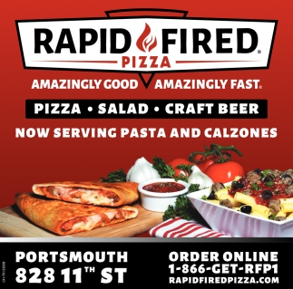 Now Serving Pasta and Calzones