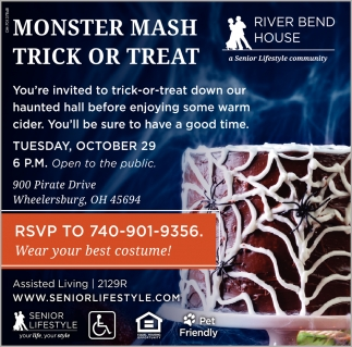 Monters Mash Trick Or Treat