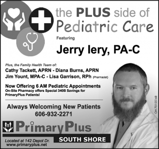 The Plus side of Pediatric Care