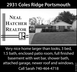 2931 Coles Ridge Portsmourh