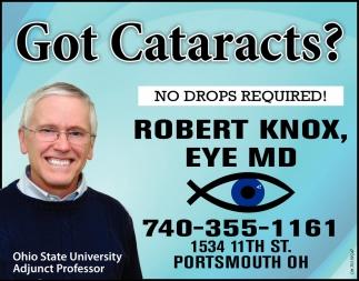 Got Cataracts?