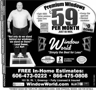Premium Windows $59 per month