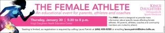 An Educational event for parents, athletes and coaches