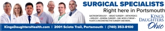 Surgical Specialists - Right here in Portsmouth