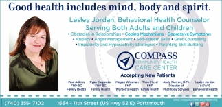 Good health includes mind, body and spirit