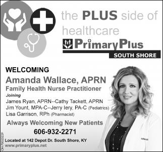 Welcoming Amanda Wallace, APRN