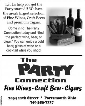 Fine Wines, Craft Beer, Cigars