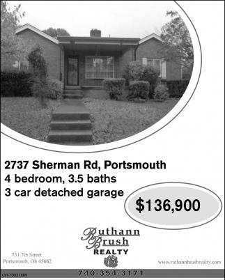 2737 Sherman Rd, Portsmouth