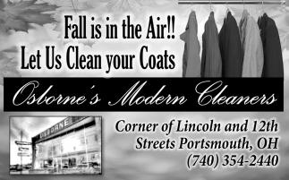 Let Us Clean your Coats
