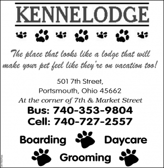 Boarding, Grooming, Daycare