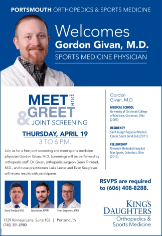 Gordon Givan, M.D.